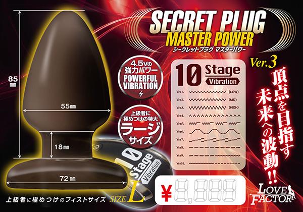 シークレットプラグ マスターパワー ver.3